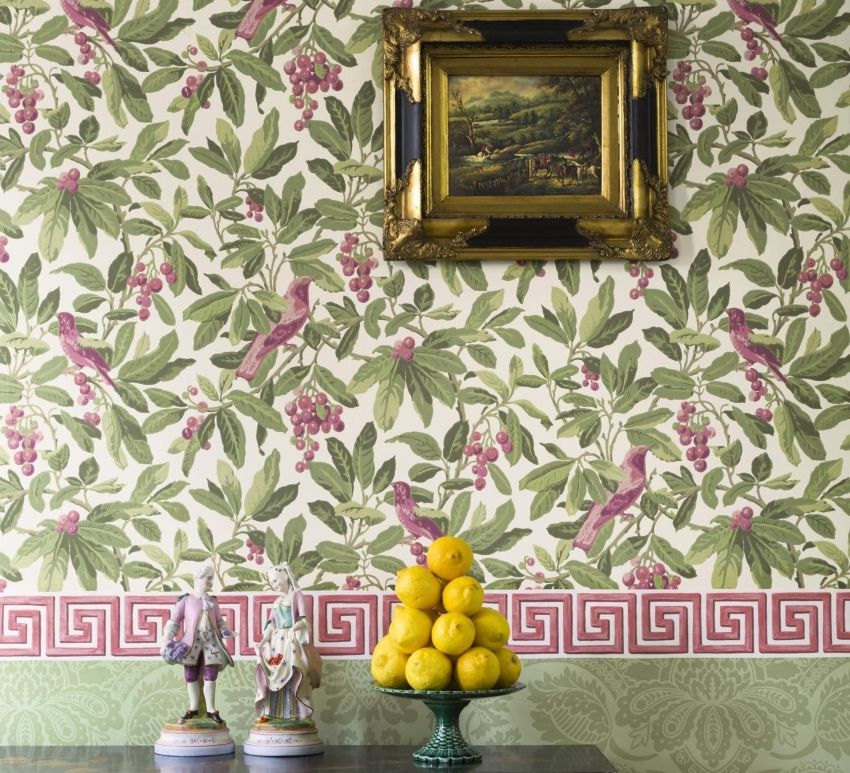 Border for wallpaper: tips on choosing and placing edging on the walls