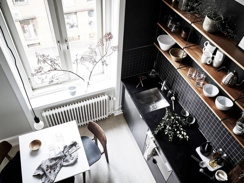 The design of a small kitchen 6 sq. M: a photo of the most beautiful interiors