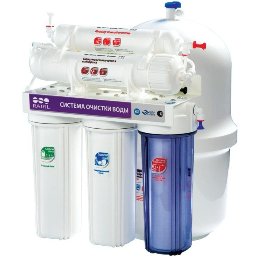Water filter under the sink, which is better: the rating of the most popular models