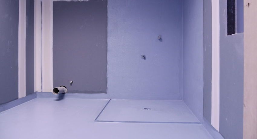 Waterproofing the floor in the bathroom: materials and methods of laying