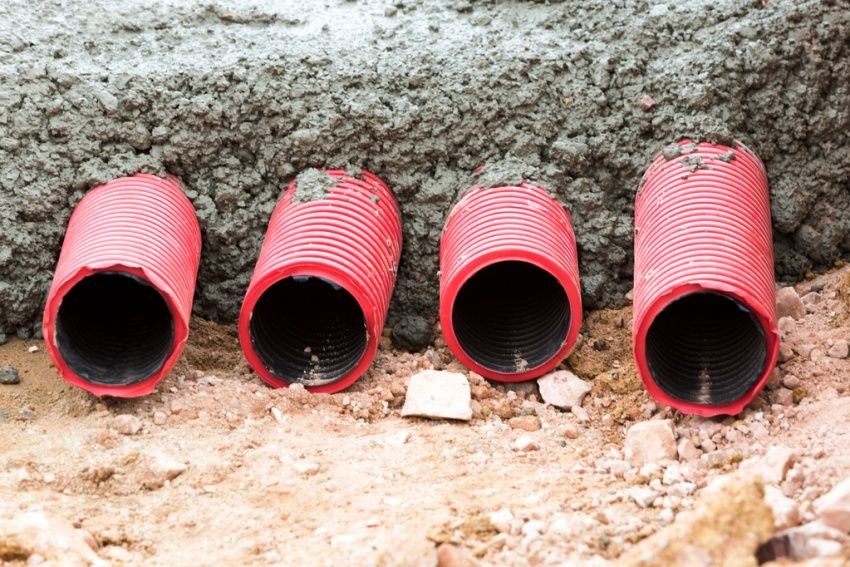 Corrugated cable: the best solution for insulated installation of electrical networks