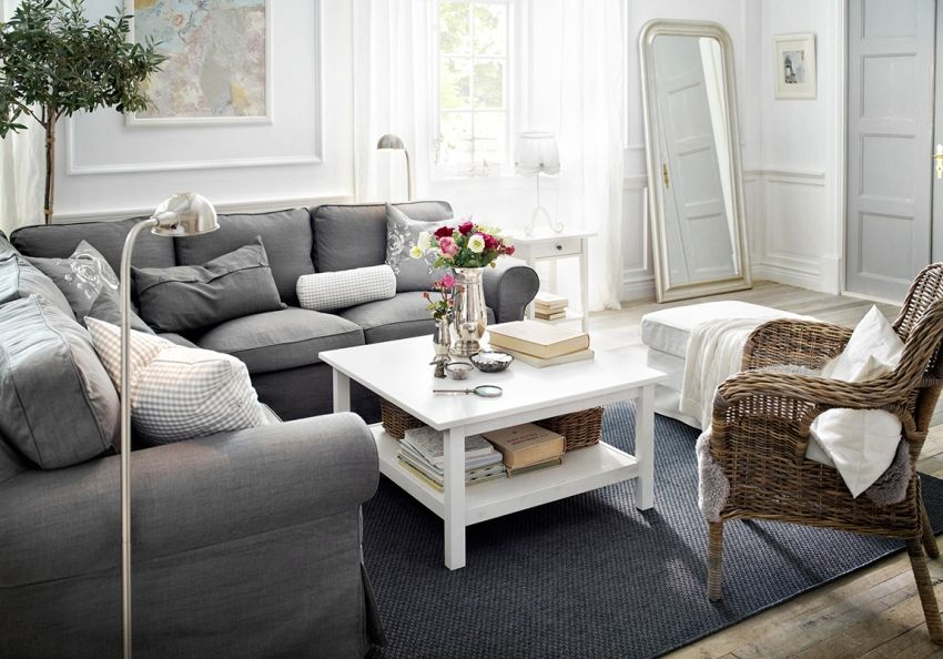 Provence style living room: how to create a beautiful rustic interior