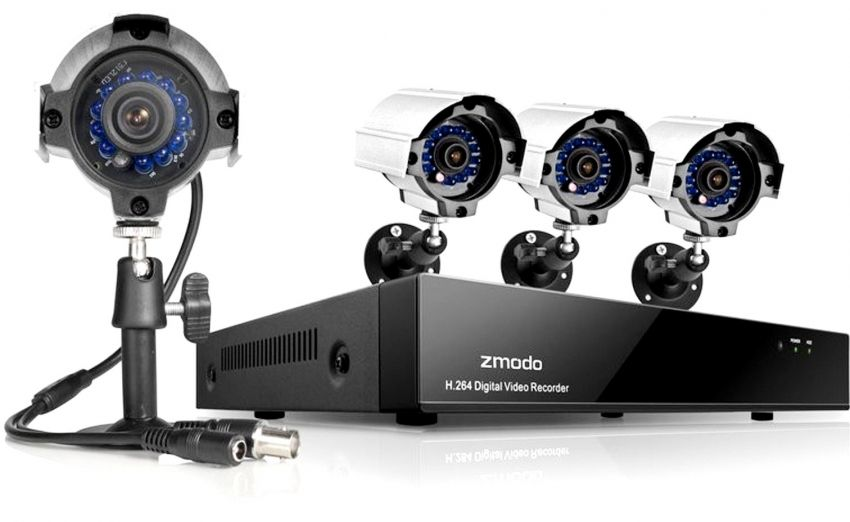 Ready-made video surveillance kits for private homes: reliable housing protection
