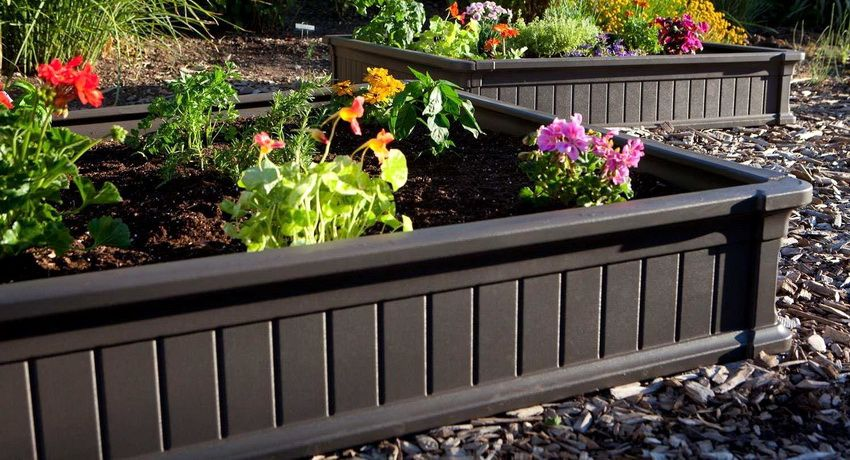 Plastic planted beds: product classification and their features