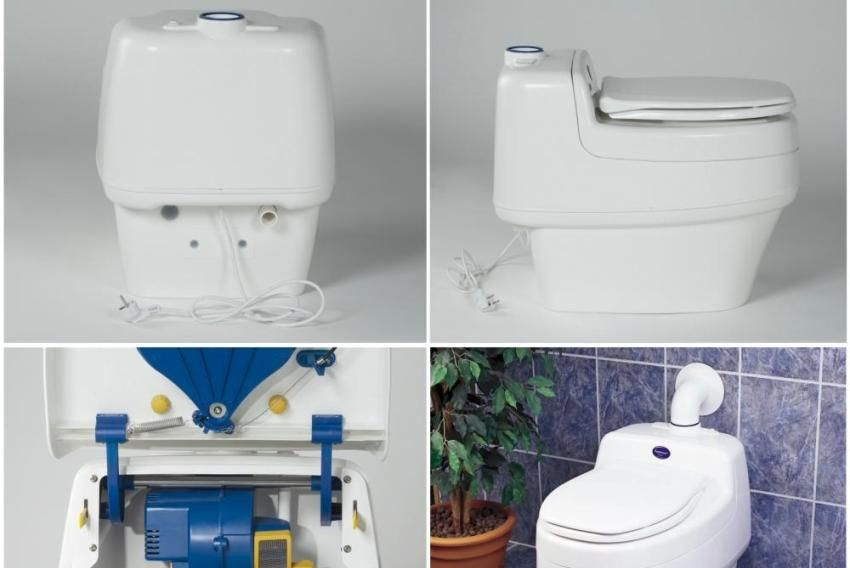 How to choose a bio-toilet to give. Main features and device