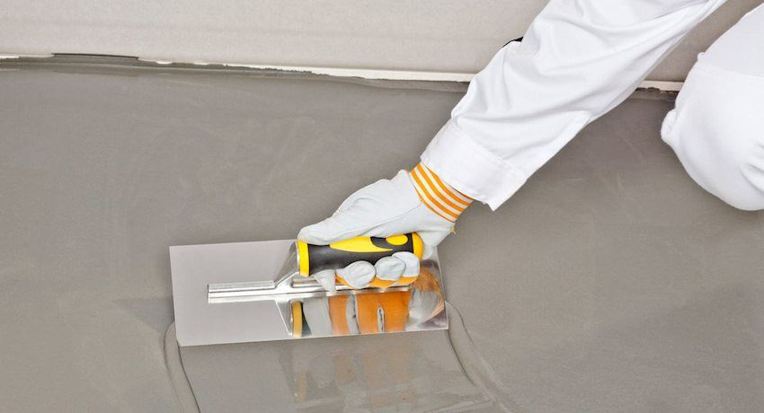 Which floor screed is better: wet, dry, semi-dry or self-leveling