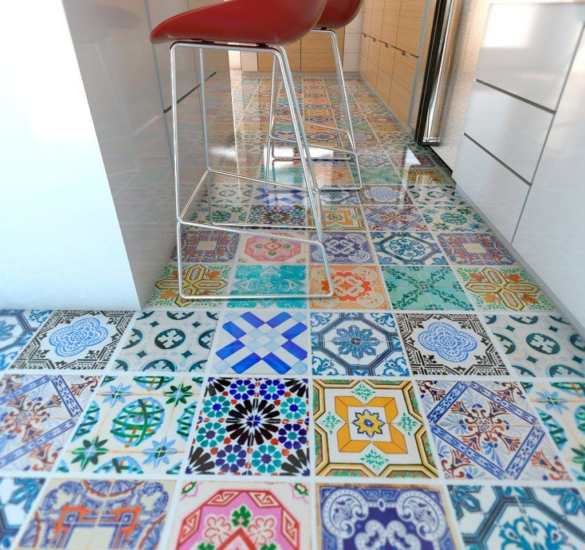 Floor tiles for the kitchen: photos and prices of popular types