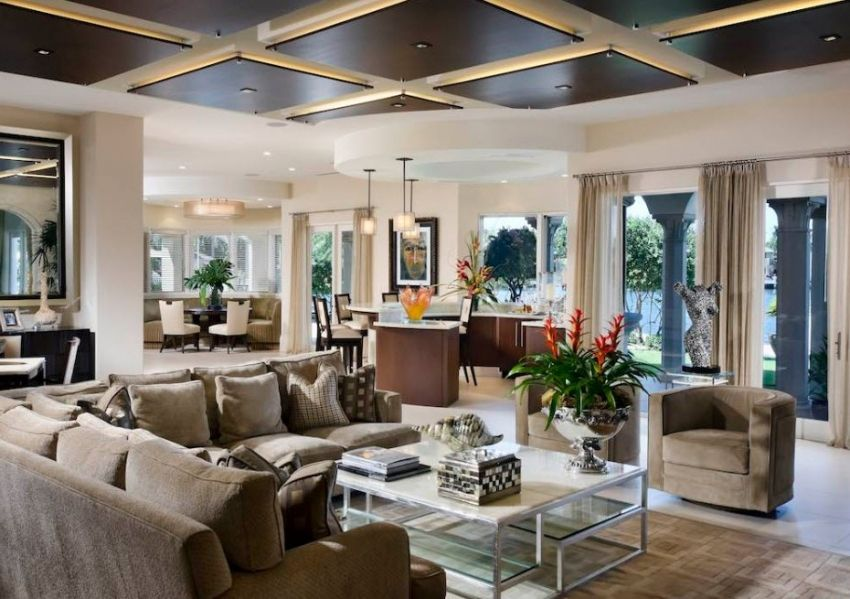 Ceilings: photos of traditional and design solutions