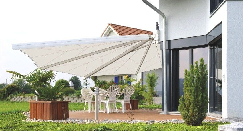 Sheds and awnings for the terrace and veranda: an elegant home decoration