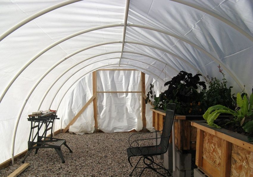 Greenhouse made of polypropylene pipes do it yourself: all the details of the construction
