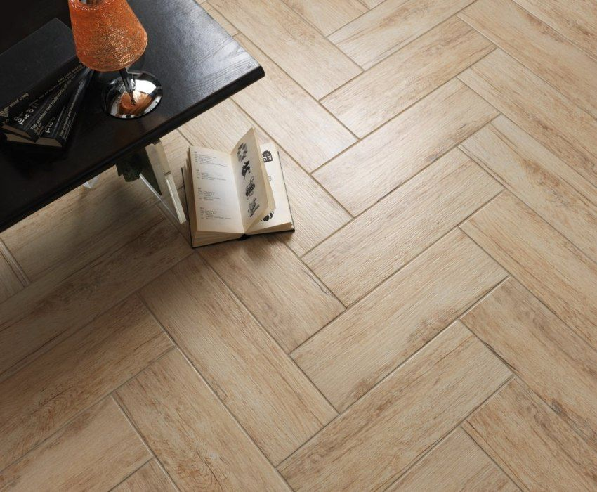 Tile porcelain tile floor: types, characteristics and features of laying