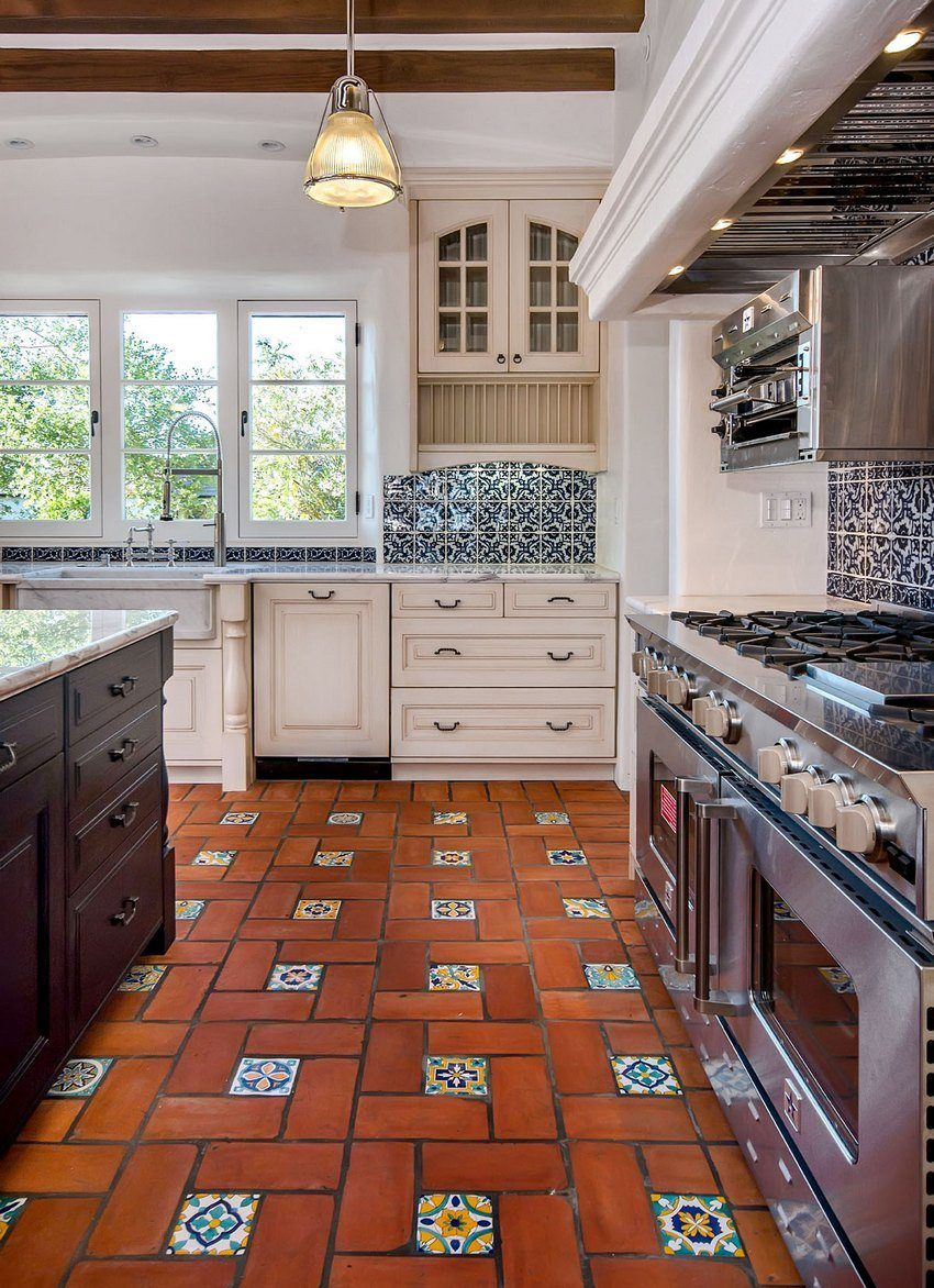 Tile on the floor for the corridor and the kitchen: photos, tips on choosing and laying