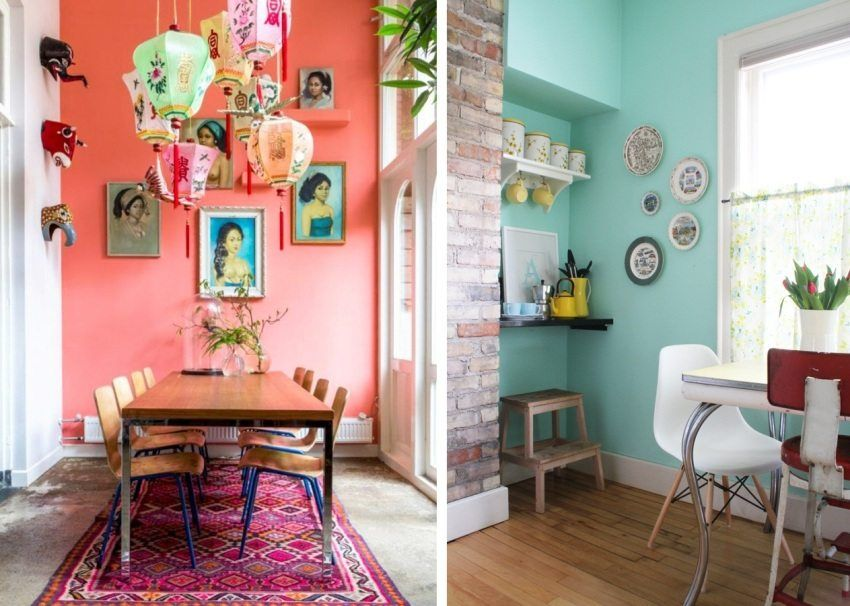 Paint the walls in the apartment: design, photo examples, fashion trends, professional advice