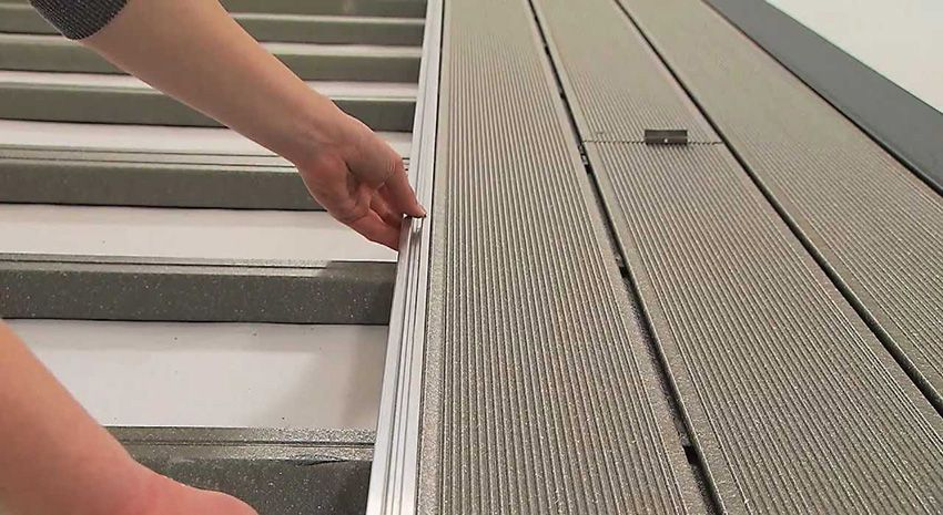 Polymer decking: types and basic rules of installation