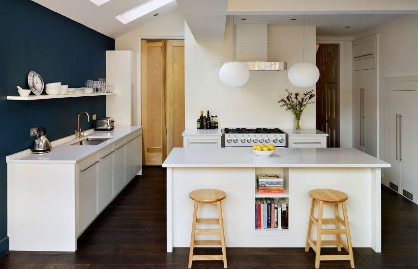 Plasterboard ceilings for the kitchen: photo examples and tips on choosing a style