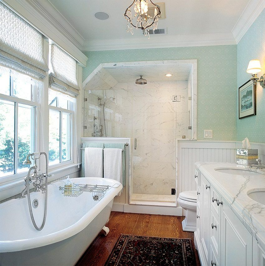 The ceiling in the bathroom: how to choose the material for its design