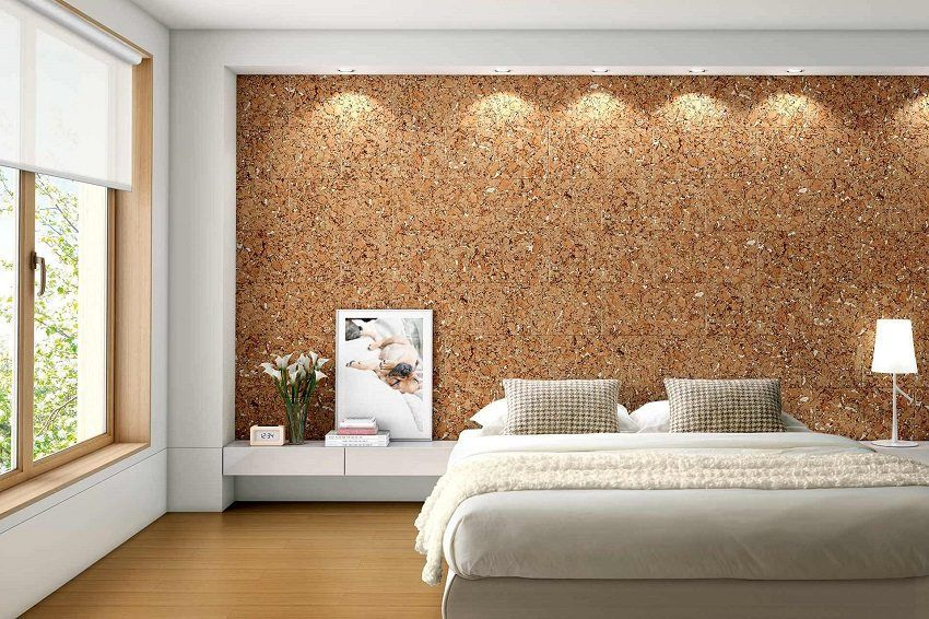 Cork wall panels: natural beauty in the interior