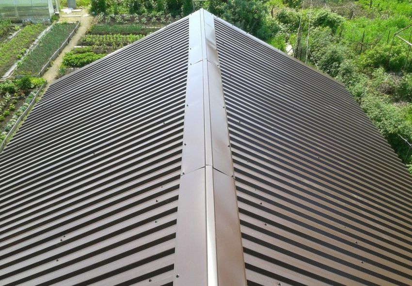 Roof decking: sheet size and price, features of different types