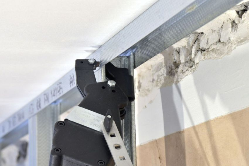 Prosekatel for a metal profile under drywall: types and characteristics