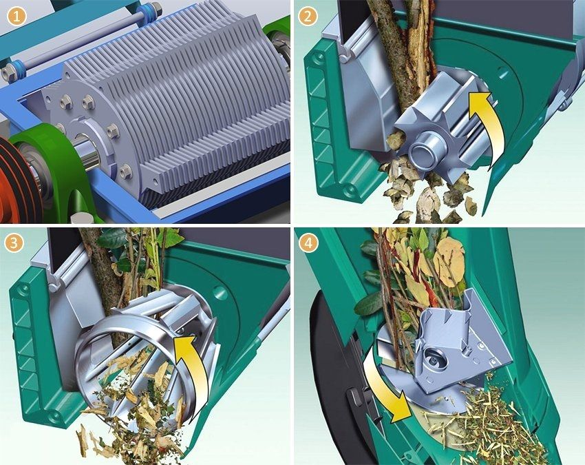 DIY garden shredder: how to create a functional design