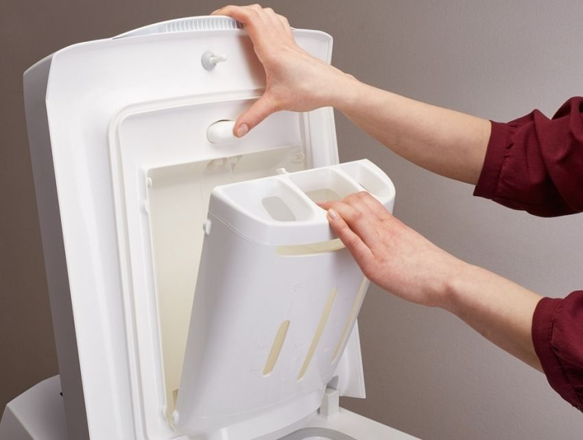 Top-loading washing machine: choosing appliances for the home