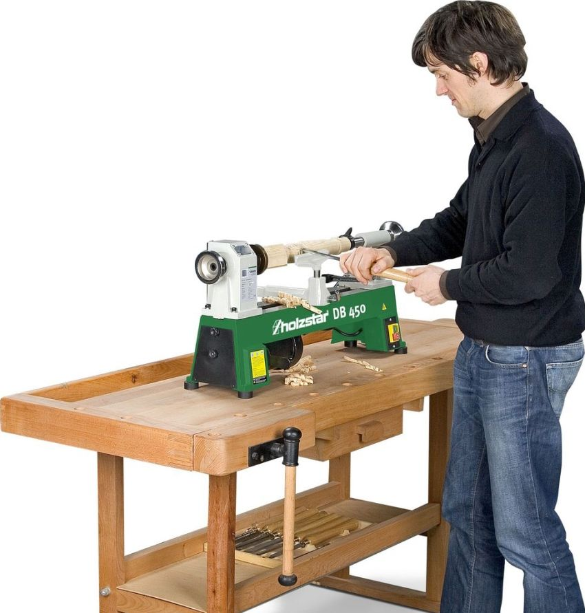 Wood lathe: device, specifications and model overview