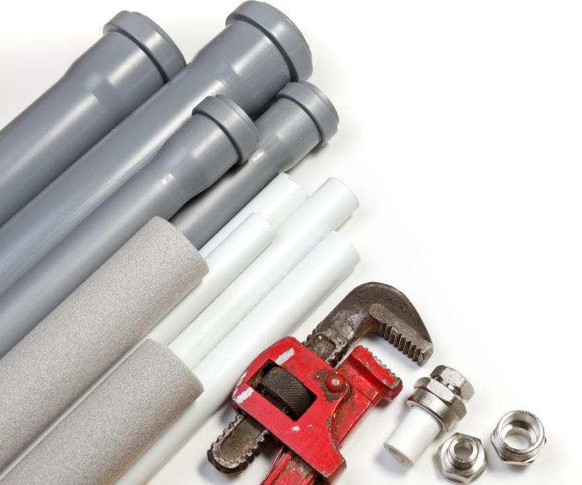 PVC pipes for plumbing: features of the application and installation