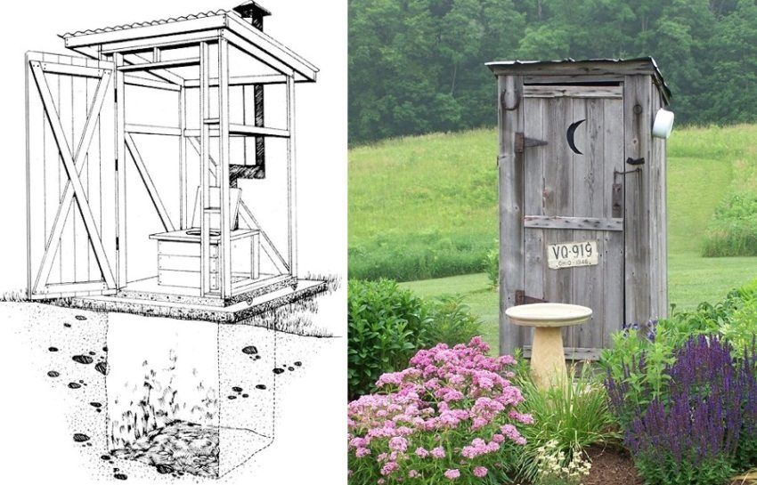 Toilet to give your own hands. Step-by-step instructions for creating a latrine on the site