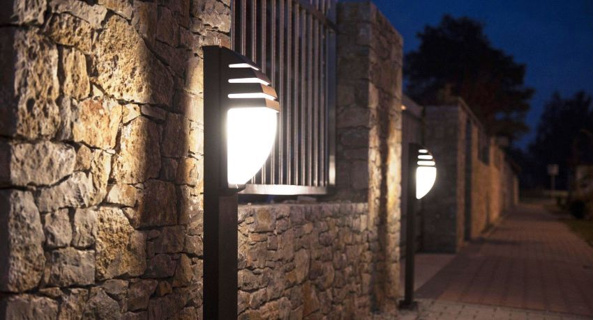 Outdoor LED lamps on poles: durability and efficiency