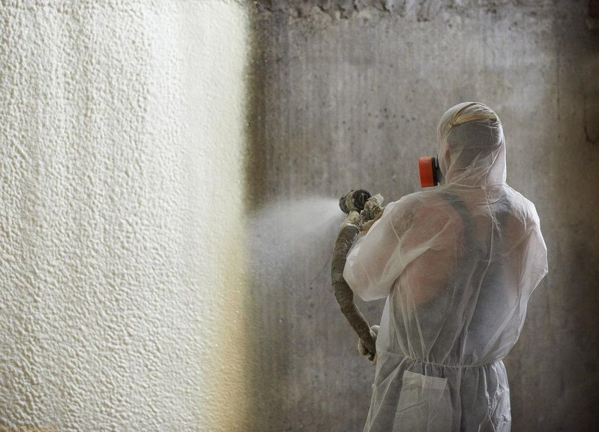 Warming PPU: high-quality thermal insulation by spraying