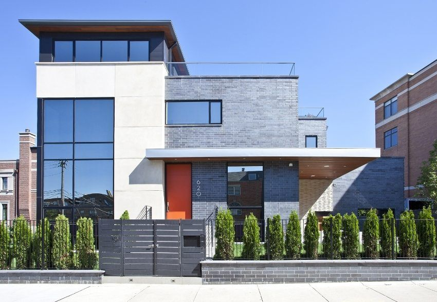 Options for finishing the facades of private houses: photo examples