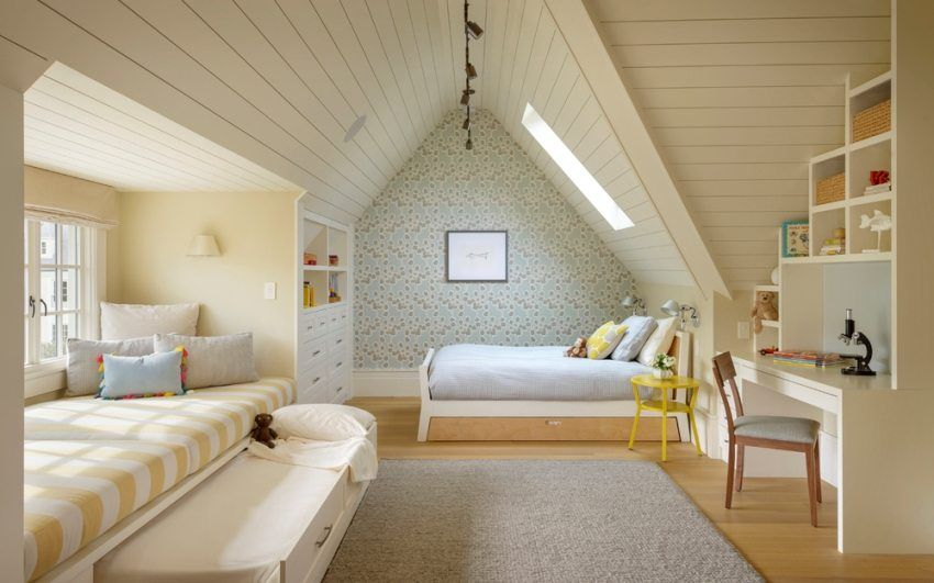 Variants of finishing the attic do-it-yourself, photo and design
