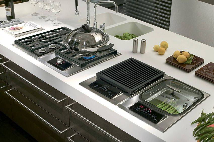Gas cooktop: a classic option for modern kitchen