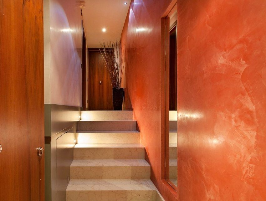 Venetian plaster: photos, tips on making and applying
