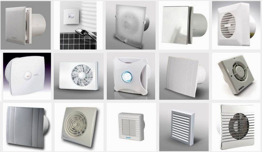 Bathroom silent fan with non-return valve: device, choice, installation features