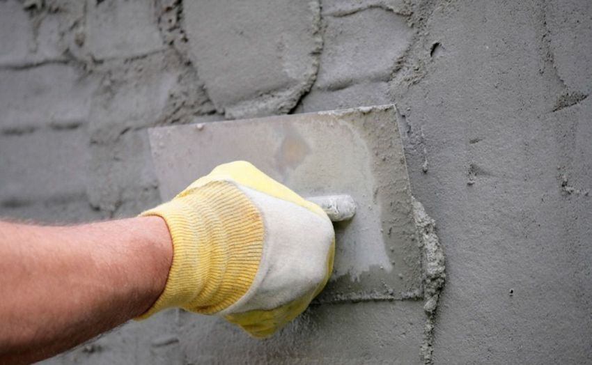 Video plaster walls do-it-yourself cement mortar