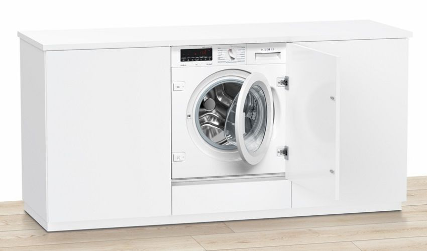 Built-in washing machine: choosing a reliable and efficient model