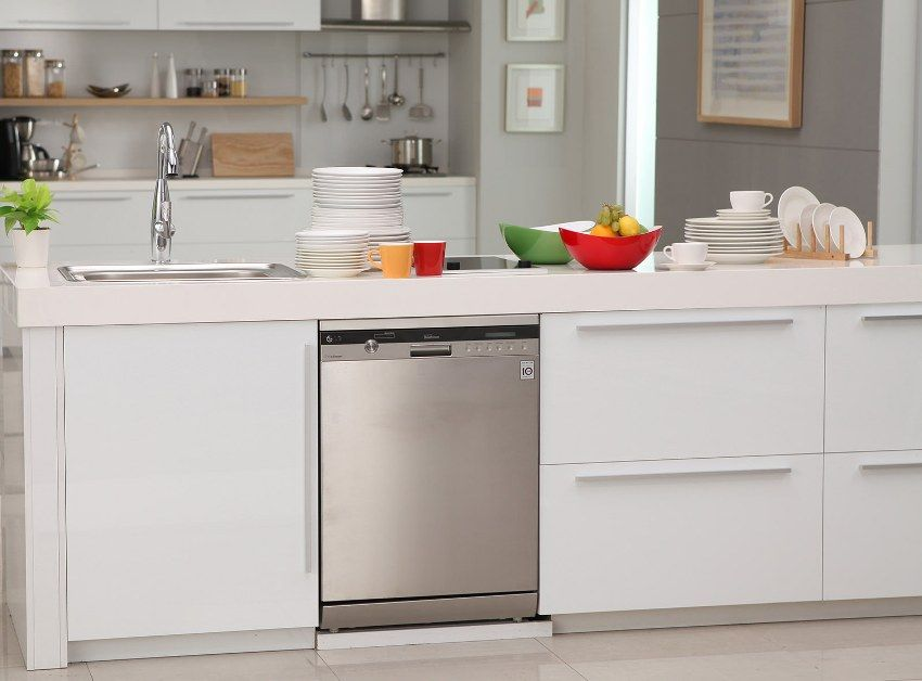 Built-in dishwasher: modern appliances for a comfortable life