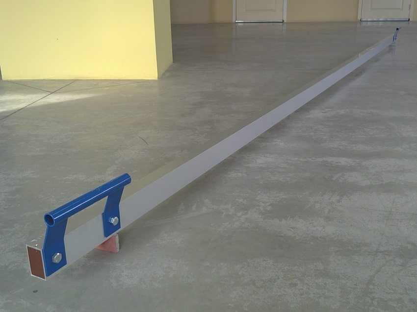 Leveling the floor with a self-leveling mixture: process technology, types of mixtures