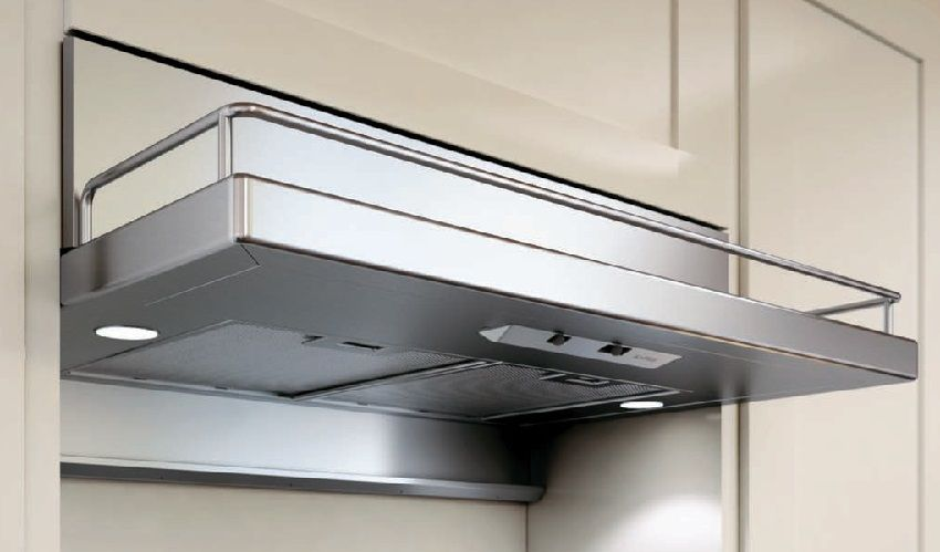 Built-in wardrobe hood 60 cm: ideal for small kitchens