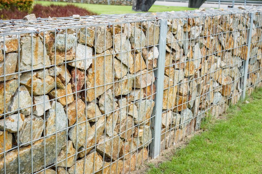 Fence from the gabion do it yourself: step by step instructions