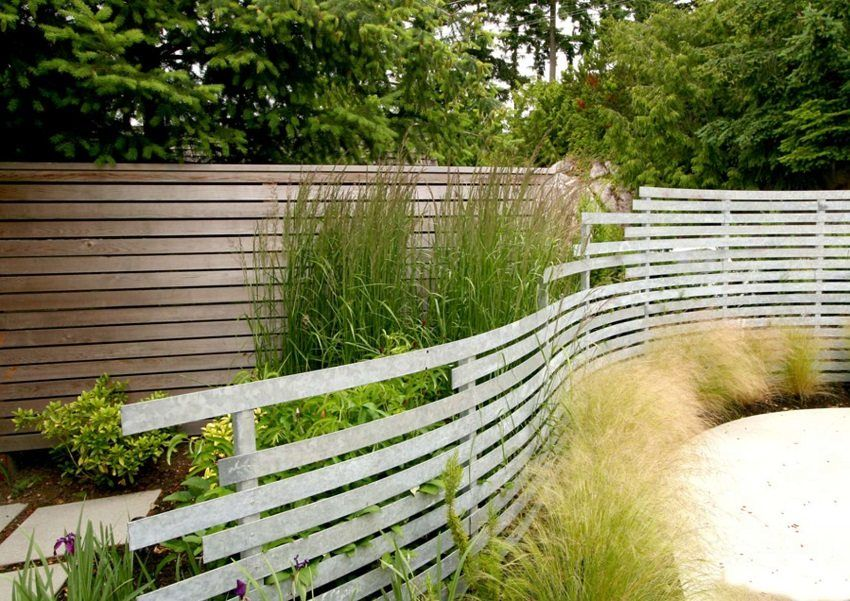 Fences for cottage: photos of inexpensive and stylish designs
