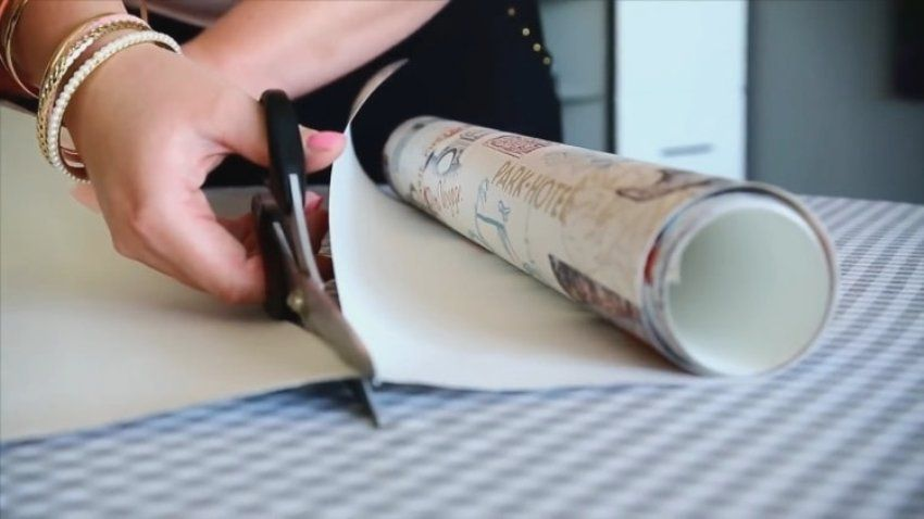 DIY wallpaper blinds: a popular and economical product for windows